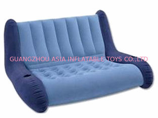 ประเทศจีน water proof and fireproof Advertising Inflatable Sofa couch with two seas โรงงาน