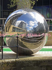 Industrial Large Mirror Inflatable Advertising Balloons Ornaments For Stage