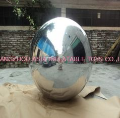 0.3mm PVC Inflatable Advertising Balloons With Sliver Color For Fashon Show