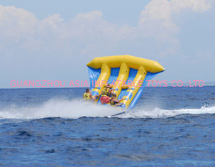 ประเทศจีน Funny Air Sealed Inflatable Flying Fish Tube with CE / UL Certificate โรงงาน