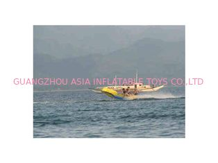 ประเทศจีน Commercial Flying Fish Towable Inflatables With Airtight Structure โรงงาน