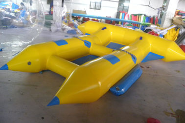 ประเทศจีน Customize Inflatable Flying Fish Boat for 4 Rides Ocean Adventure Sport โรงงาน