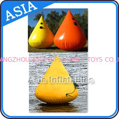 ประเทศจีน Inflatable Paintball Bunker Inflatable Buoys 0.90mm PVC Tarpaulin โรงงาน