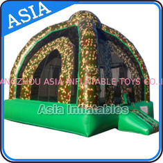 ประเทศจีน Outdoor Inflatable Marine Camo Bongo Bouncer For Children Party Games โรงงาน
