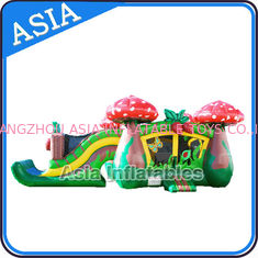 ประเทศจีน Inflatable Strawberry Bouncer And Slide Combo Games For Children โรงงาน