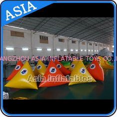 ประเทศจีน Customized Simple Floating Inflatable Buoys For Aqua Park โรงงาน