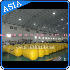 ประเทศจีน Inflatable Buoys , Cylinder Shape For Water Triathlons Advertising โรงงาน