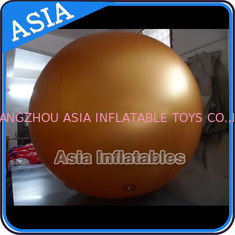 Inflatable Helium Balloons Golden Round ,  Blank Sphere Ball , Cartoon Character
