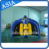 0.9mm PVC Tarpaulin Inflatable Flying Manta Ray / Fly Fish Inflatable Water Parks ผู้ผลิต