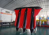 Customized Logo Towable Inflatables / Inflatable Flying Fish For Sea ผู้ผลิต