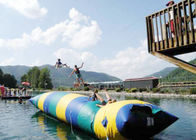 Floating Inflatable Water Trampolines , Lake Inflatable Water Blob ผู้ผลิต