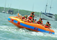 4 + Riders Commercial Grade Rental Pvc Crazy Towable Ski Tube For Water Sport ผู้ผลิต