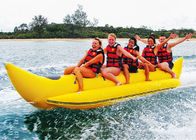 Aqua Park Towable Inflatables , 3 - 5 persong Inflatable Flying Banana Boat ผู้ผลิต