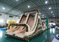 Inflatable Boot Camp Obstacle Course Challenge / Outdoor Inflatable Obstacle Course ผู้ผลิต