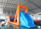 Green Inflatable Zip Line Sports For Outdoor Event Adventure Games ผู้ผลิต