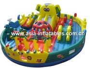 Outdoor Inflatable Jail Design Funland / Prison Design Funcity For Park Rental Games ผู้ผลิต