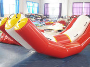 Durable Red And White Water Seesaw Inflatable Water Games For 4 People ผู้ผลิต