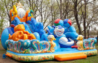 Inflatable Funland With  Octopus For Children Amusement Games ผู้ผลิต