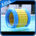 PVC Tarpaulin Inflatable Yellow Water Roller for Kids Pool Water Games ผู้ผลิต