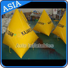 Inflatable Water Barrier Walls, Swim Buoys For Ocean Or Lake Advertising ผู้ผลิต