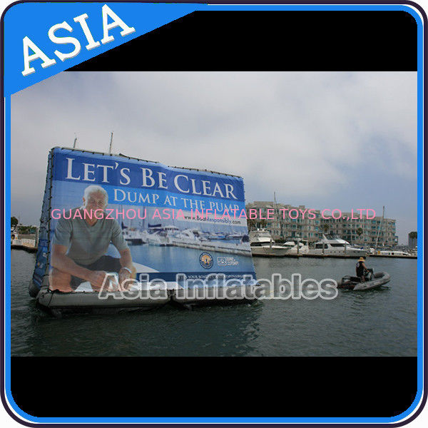 Inflatable Billboard For Publicity ,  Advertising Inflatables Screen Banner ผู้ผลิต