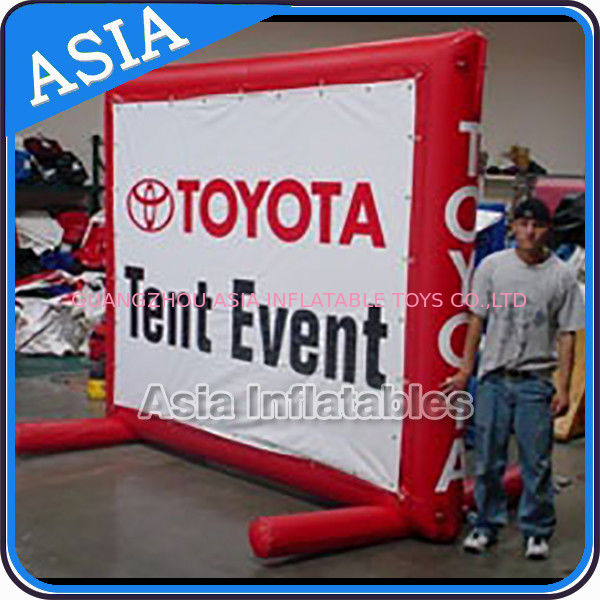 Abnormal Advertising Inflatables Billboard With Printing , Outdoor Billboard ผู้ผลิต