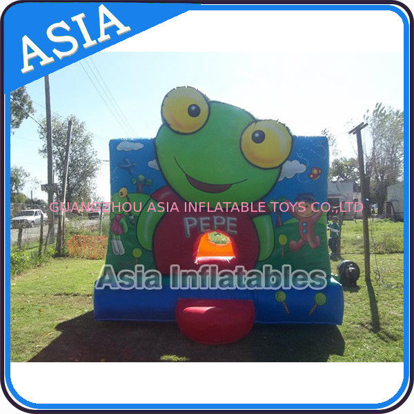 Inflatable Bouncer Sapo Pepe Bouncy Castle For Party Hire Outdoor Games ผู้ผลิต