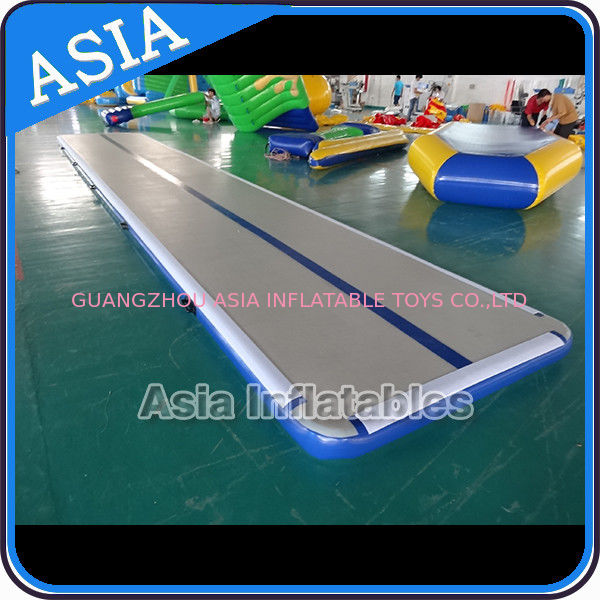 Safety Airtight 20cm Gymnastic Inflatable Air Track For Tumbling ผู้ผลิต