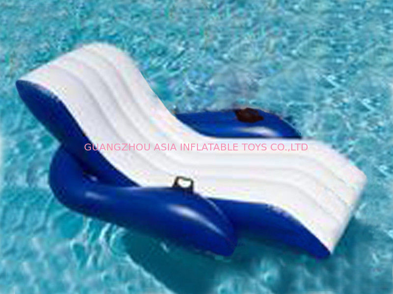 Floating Relaxed Inflatable Water Chairs Sofa For Adults Used In Swimming Pool ผู้ผลิต