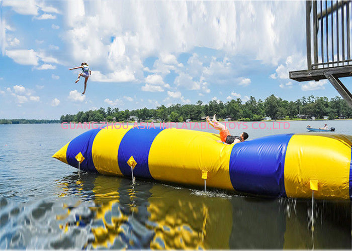 Water Parks Sports Games , Inflatable Airtight Water Blob for Water Games ผู้ผลิต