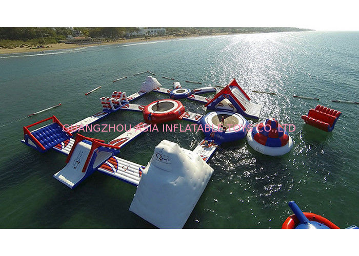 20x20m Outdoor Sea Inflatable Water Parks for Amusement Park ผู้ผลิต