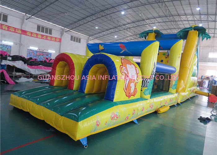 Outdoor Giant Palm Tree Obstacle Challenge For Kids Amusement Sports ผู้ผลิต