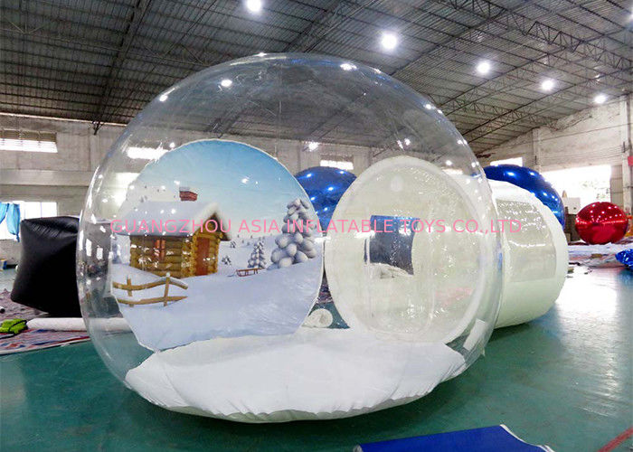 Inflatable Snow Globe for Sale with Background ผู้ผลิต