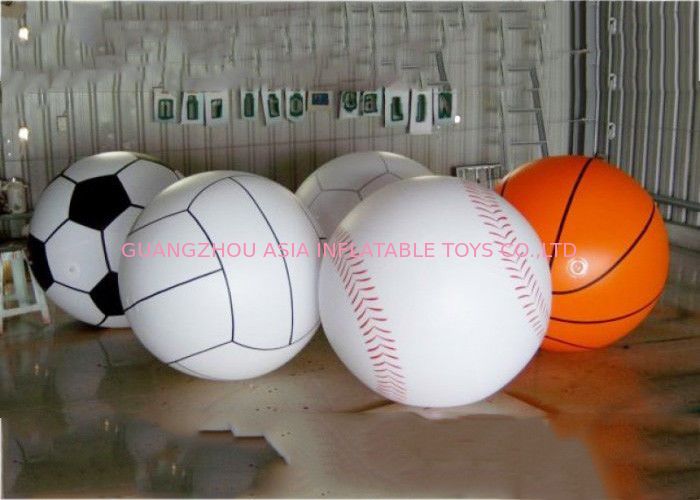 Giant Inflatable Football Basketball Sports Balloons Advertising Sport Ball ผู้ผลิต