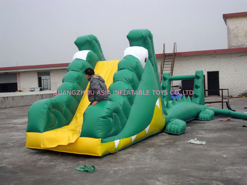 Aqua Floating Water Sports, Inflatable Crocodile Water Obstacle Course ผู้ผลิต