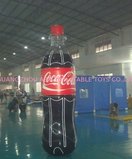 Giant Inflatable Coca Cola Bottle for Advertising / Display ผู้ผลิต