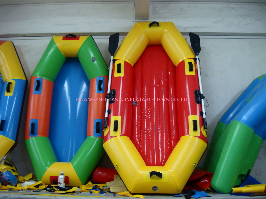 Customized 8 Foot Colorful Inflatable Fishing Boat for summer ผู้ผลิต