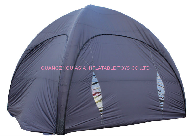 Grey Camping Inflatable Tent For Sale ผู้ผลิต
