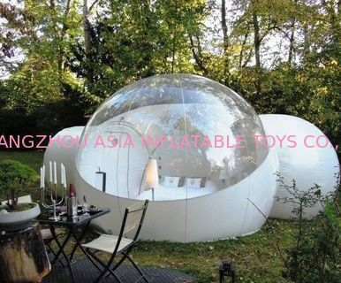 2014 New Design Inflatable Bubble Tent with 2 Tunnel ผู้ผลิต