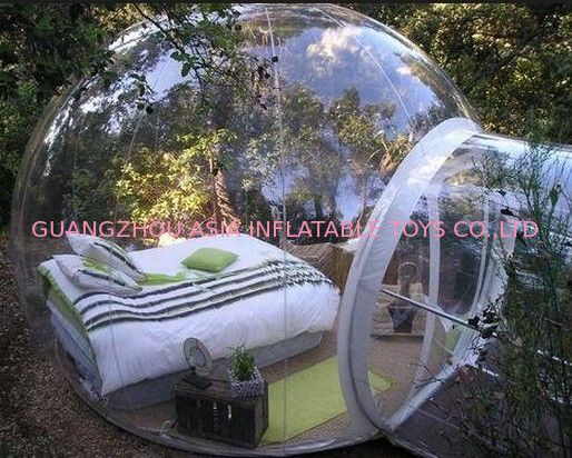 Hiqh Quality Transparent TPU Inflatable Dome Tent for Sale ผู้ผลิต