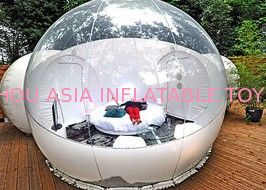 Custom Made Clear PVC Infaltable Bubble Tent for Outdoor Camping ผู้ผลิต