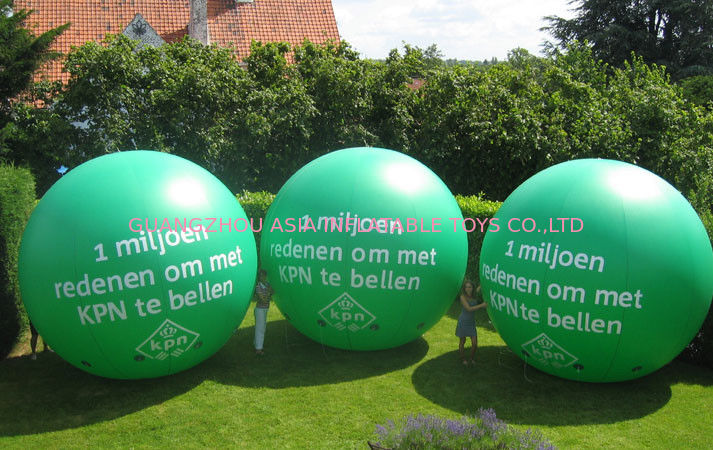 advertising inflatable helium balloon with digital printing ผู้ผลิต