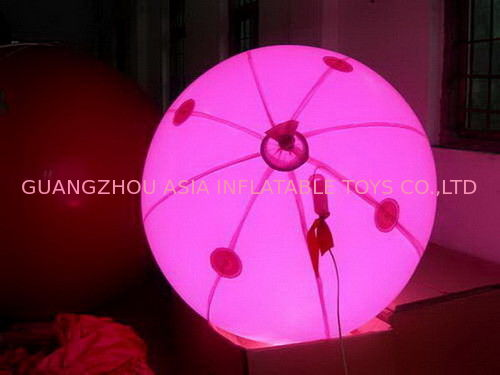 colorful decoration inflatable balloon with LED light for sales ผู้ผลิต