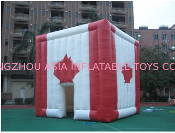 giant inflatable cube tent inflatable canada maple leaves tent ผู้ผลิต