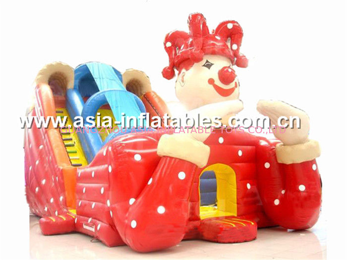 Giant Commercial Grade Inflatable Combo With  Slide ผู้ผลิต