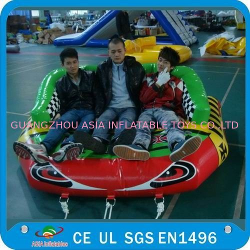 Inflatable Eagle Eyes Water Sofa, Inflatable Towable Water Sports ผู้ผลิต