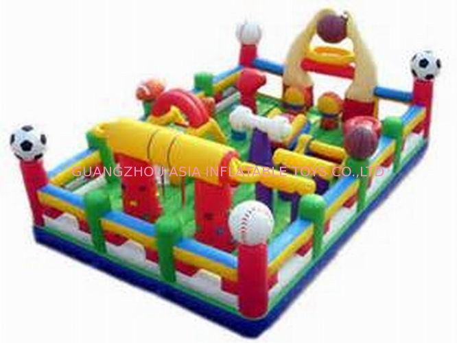 Hot Sale Inflatable Sports Funland / Inflatable Children Funcity ผู้ผลิต