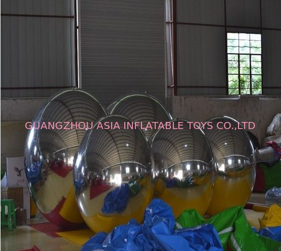 Wholesale Price PVC Double Layer Inflatable Mirror Ball For KTV Decoration ผู้ผลิต