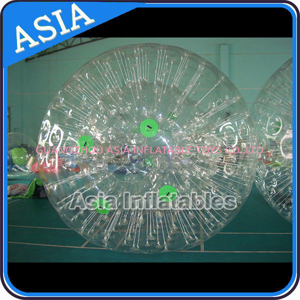 Fun Inflatable Color Dots Zorb Ball Crazy Giant Hamster Ball ผู้ผลิต