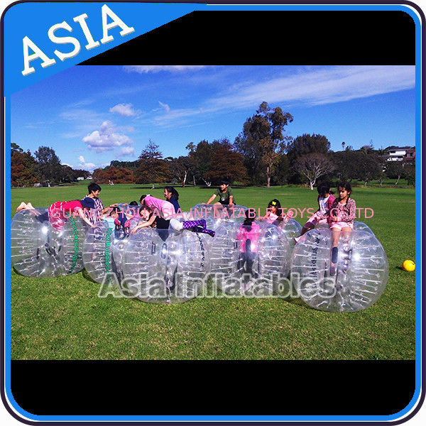 Custom 1.8m  Inflatable Body Bumper Ball For Adult Sports Games ผู้ผลิต